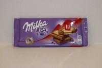 零食類 瑞士 Milka 朱古力 ( LU ) 87 g X 1包