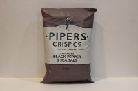 零食類 Pipers 英國手工著片 黑椒海鹽味 ( 灰 )