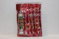零食類 小老板 Big Roll 紫菜 辣味 ( 紅色 ) 3g X 12小包