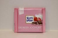 零食類 Ritter Sport 朱古力 草莓乳酪 100g X 1塊