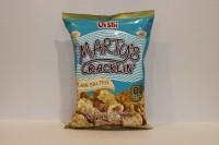 零食類 Oishi Marty Crackin 海鹽味 脆片 90 g X 1包