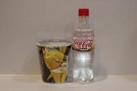 100%日本透明可樂 500ml X 1支 + 金槍魚杯面 X 1杯