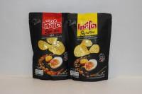 TASTO 咸蛋薯片 ( 原辣味各一 ) 50g X 2包