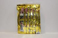 零食類 小老板 Big Roll 紫菜 魷魚味 ( 黃色 ) 3g X 12小包
