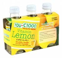 7 元系列 YOU C1000 檸檬味 140ml x 3 支(玻璃樽)