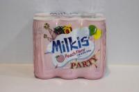 樂天 忌廉溝鮮奶 ( 香桃味 ) 250ml x 30 罐