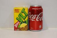 組合1 : 維他 小檸茶(紙包) 1 箱 + 可樂 (罐裝) 1 箱