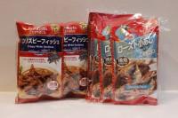 零食類 Maruesu 黑椒味香脆沙甸魚 + 燒鯖魚 各 1袋