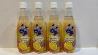 道地 百果園 有氣 藍莓 檸檬 500ml X 24支
