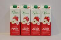 V Care 100% 純蘋果汁 1L X 12支