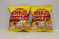 零食類 卡樂B 燒烤味 薯片 25g x 2包