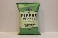 零食類 Pipers 英國手工著片 蘋果醋海鹽味 ( 綠 )