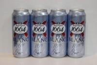 K1664 白啤酒 500 ml X 24罐