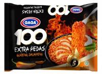 散貨系列 ---- GAGA  墨西哥 辣椒撈面 85g X 5包 ( 橙色)
