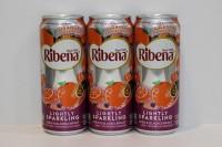 利賓納 有氣 ( 橙味 ) 黑加侖子325ml x 24 罐