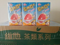 40元一箱  菓然系茶 冰震紅西柚 250ml x 24包