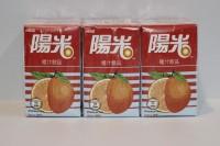 陽光 橙汁 250ml x 24包
