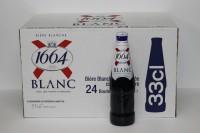 K1664 白啤酒 330ml X 24 支 ( 細支 )