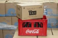 自取組合 1 : 玻璃樽可樂(細支) 1 箱 + 津路烏龍茶(細支) 1 箱