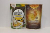 SIAM'S ROYAL 芒果乾 蜂蜜椰奶 兩味各一包 ( 共12小包 )