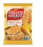 Nissin Golden Malkist Crackers Cheese 27g X10 包