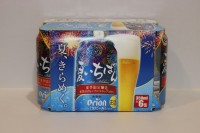 ORION 日本進口啤酒 夏季限定版 350ml X 6 罐