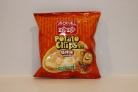 零食類 珍珍 Jack n Jill 薯片 燒烤味 20g X 1包