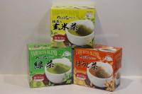 日本原田製茶 綠茶 , 玄米茶 , 焙煎茶 各 1盒