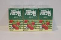 陽光 蘋果茶 250ml x 24包