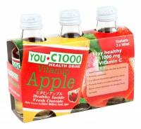 YOU C1000 蘋果味 140ml x 30支(玻璃樽)