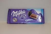 零食類 瑞士 Milka 朱古力 ( OREO ) 87 g X 1包