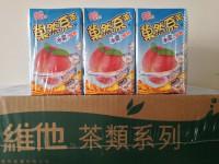 40元一箱  菓然系茶 冰震蜜桃 250ml x 24包