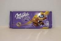 零食類 瑞士 Milka 朱古力 ( TUC ) 87 g X 1包