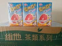 51元一箱 維他 菓然系茶 冰震紅西柚 250ml x 24包