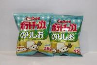 零食類 卡樂B 紫菜味 薯片 25g x 2包