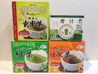 日本原田製茶 綠茶 , 玄米茶 , 焙煎茶  ,青汁 各 1盒