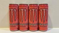 Monster ( 粉紅 混合果味 ) 能量飲品 355ml x 24 罐