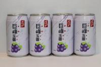 5 元系列 --- 道地玉露 巨峰提子味 340ml x 4 罐