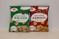 零食類 九福 脆餅 岩燒海苔 五香胡椒 各1包 25g X 2包