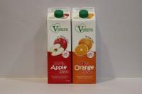 散貨 ---- V Care 100% 純蘋果汁 純橙汁 各 1 支 ( 1L X 2支 )