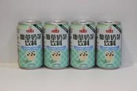 洪大媽 仙草凍奶茶 320g x24 罐