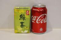組合4 : 道地 蜂蜜綠茶 ( 紙包 ) 1 箱 + 可樂 ( 罐裝 ) 1 箱