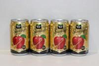 玉泉 有氣蘋果梳打 金罐 ( 季節限定 ) 330ml X 24 罐