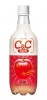 C & C 蘋果汁 500ml x 24支